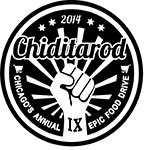 Chiditarod 2014 patch design